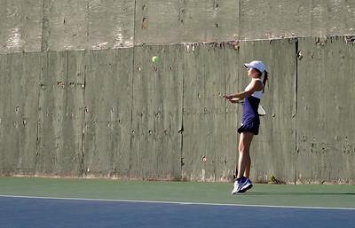 2015 Tennis vs CVU in Essex