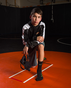 Blaine Middle School Wrestling 2015