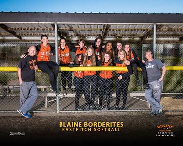JV - Blaine HS Softball, Team Pictures