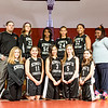 Kings Christian Girls Middle School Basketball Team Shot