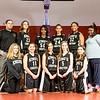 Kings Christian Girls Middle School Basketball Team Shot