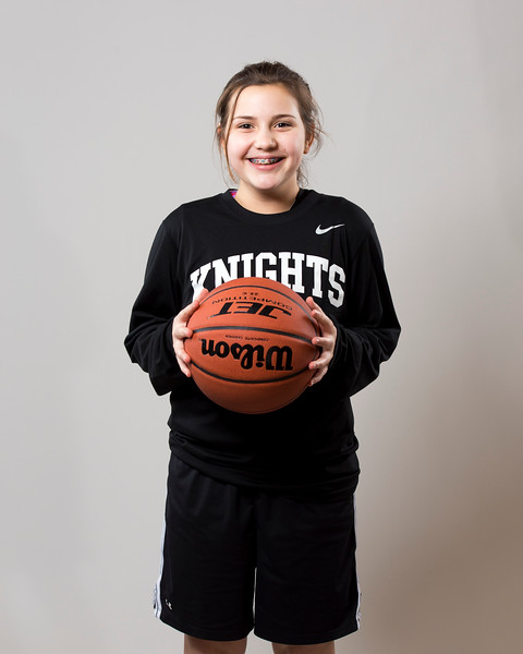 Kings Christian Girls Middle School Basketball Individual Shots