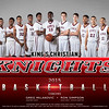 Kings Christian Varsity Boys Basketball Team Photo