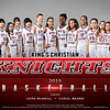 Kings Christian Girls Varsity Basketball Team Photo
