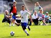9/25/2015 Mike Orazzi | Staff<br /> Bristol Eastern's Luke Winiarski(30) at the Bristol Soccer Club fields in Bristol on Friday.