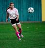 10/10/2015 Mike Orazzi | Staff<br /> Bristol Central's Brianna Hamel (18) during soccer at Muzzy Field in Bristol.