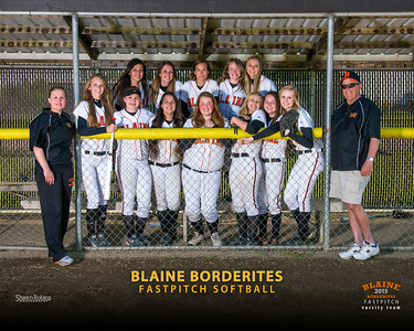 Varsity - Blaine HS Softball, Team Pictures