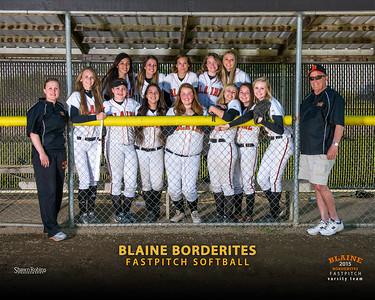 Varsity - Blaine HS Softball, Team Pictures