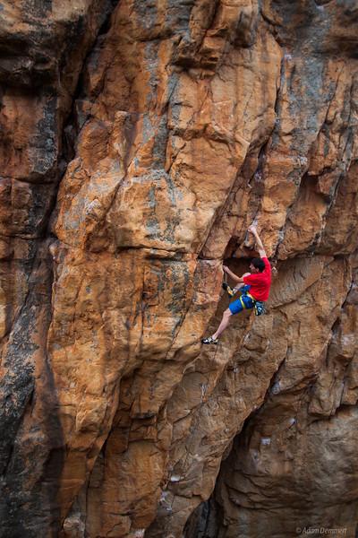 Alex Honnold on Masada 29
