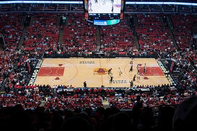 Bulls / Cavs Playoff Game 3 - Unit Center