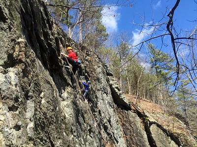 Rock Climbing | Early Spring