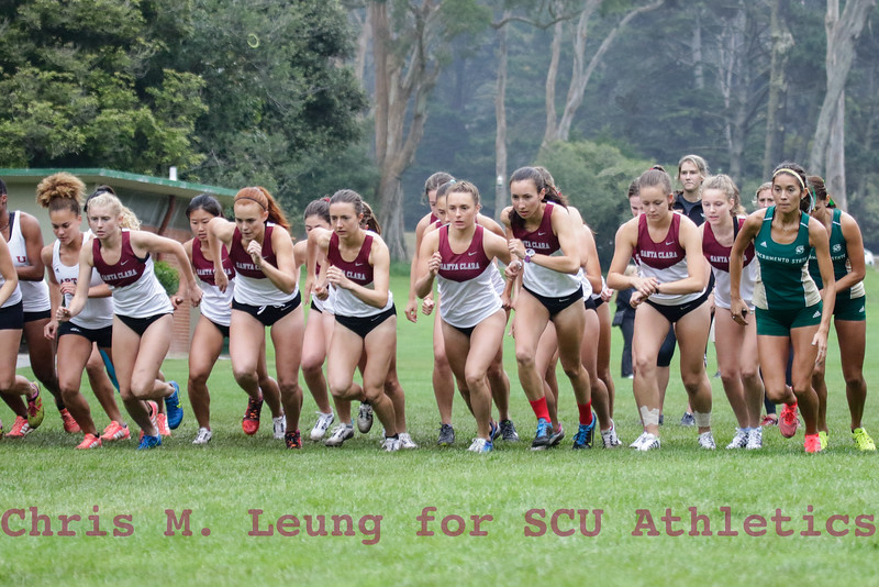 9/15/16: Speedway Duals at Golden Gate Park in San Francisco, CA.  Image by Chris M. Leung for SCU Athletics