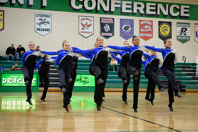 Dragon Flames JV Dance Team