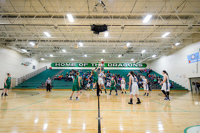 Dragons Girls Basketball vs DC Chargers