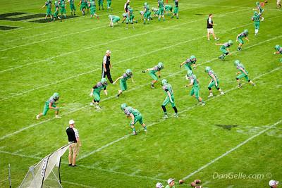 Dragon Football vs Delano Tigers
