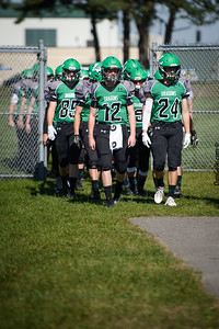 2016 Litchfield Dragons Homecoming Football game vs Holy Family Fire