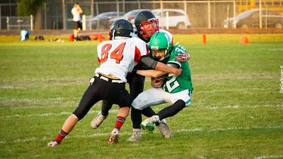 Litchfield Dragon Football vs Monticello