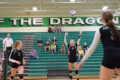 Dragon Volleyball vs Hutchinson Tigers