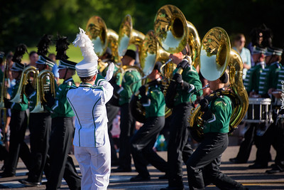 Marching Dragons at Rosefest Parade