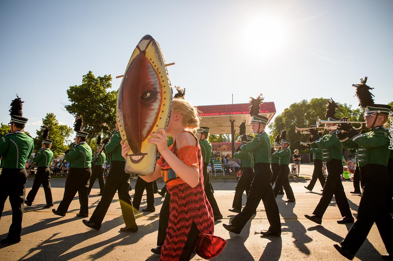 Marching Dragons at Watercade Parade