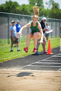 Dragons Track and Field at Dassel-Cokato