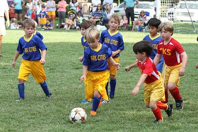 2016 9-13 Bobcats Soccer Game #2