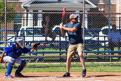 Dads - Alumni vs. Panthers Baseball 4-25-2016