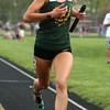 4-26-16<br /> Northwestern Relays<br /> Eastern's Carly Jones in the distance medley relay<br /> Kelly Lafferty Gerber | Kokomo Tribune