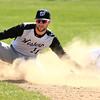 4-16-16<br /> Western vs Tipton baseball<br /> Tipton's Blake Edwards slides safely to second just before Western's Jacob Douglass can make the tag.<br /> Kelly Lafferty Gerber | Kokomo Tribune