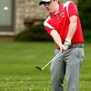 4-20-16<br /> Western vs Taylor boys golf<br /> Taylor 2 Jadon Kosberg<br /> Kelly Lafferty Gerber | Kokomo Tribune