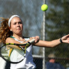 4-14-16<br /> Eastern vs Northwestern girls tennis<br /> Eastern 2 singles Casey Clark<br /> Kelly Lafferty Gerber | Kokomo Tribune