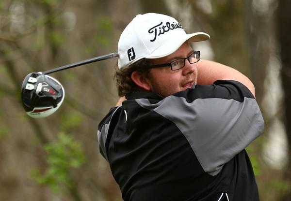 4-20-16<br /> Western vs Taylor boys golf<br /> Western 1 Riley Tomlinson<br /> Kelly Lafferty Gerber   Kokomo Tribune