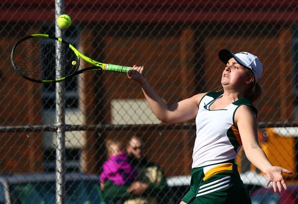 4-14-16<br /> Eastern vs Northwestern girls tennis<br /> Eastern 1 singles Lauren Hickey<br /> Kelly Lafferty Gerber   Kokomo Tribune