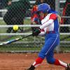 4-27-16<br /> Kokomo softball<br /> Alexis Clark bats.<br /> Kelly Lafferty Gerber | Kokomo Tribune