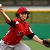 4-20-16<br /> Kokomo vs Logansport baseball<br /> Logansport pitcher John Ward<br /> Kelly Lafferty Gerber | Kokomo Tribune