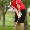 4-20-16<br /> Western vs Taylor boys golf<br /> Taylor 1 Bryce Fritsch<br /> Kelly Lafferty Gerber | Kokomo Tribune