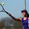 4-14-16<br /> Eastern vs Northwestern girls tennis<br /> Northwestern's 2 singles Allison Miller<br /> Kelly Lafferty Gerber | Kokomo Tribune
