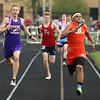 4-26-16<br /> Northwestern Relays<br /> Northwestern's Owen Munson in the sprint medley relay.<br /> Kelly Lafferty Gerber | Kokomo Tribune