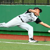 4-19-16<br /> Northwestern vs Western baseball<br /> Western's Myles Griffith just misses the catch that would've been an out in foul territory.<br /> Kelly Lafferty Gerber | Kokomo Tribune