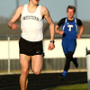 4-12-16<br /> Kokomo, Western, Tipton track and field meet<br /> Western's Josh Everetts in the 800 m run.<br /> Kelly Lafferty Gerber | Kokomo Tribune