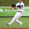 4-20-16<br /> Kokomo vs Logansport baseball<br /> Kokomo's Noah Hurlock catches a ball that bounced.<br /> Kelly Lafferty Gerber | Kokomo Tribune