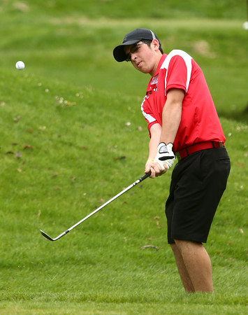 4-20-16<br /> Western vs Taylor boys golf<br /> Taylor 1 Bryce Fritsch<br /> Kelly Lafferty Gerber   Kokomo Tribune