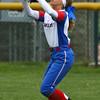 4-27-16<br /> Kokomo softball<br /> Alexis Clark makes the catch for an out.<br /> Kelly Lafferty Gerber | Kokomo Tribune