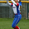 4-27-16<br /> Kokomo softball<br /> Alexis Clark makes the catch for an out.<br /> Kelly Lafferty Gerber | Kokomo Tribune