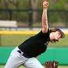 4-19-16<br /> Northwestern vs Western baseball<br /> Northwestern pitcher Ian Parslow<br /> Kelly Lafferty Gerber | Kokomo Tribune
