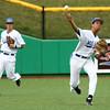 4-20-16<br /> Kokomo vs Logansport baseball<br /> Kokomo's Perry McCullum makes the throw to the infield looking to get an out.<br /> Kelly Lafferty Gerber | Kokomo Tribune