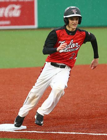 4-6-16<br /> Taylor vs Alexandria baseball<br /> <br /> Kelly Lafferty Gerber | Kokomo Tribune