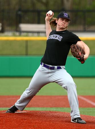 4-19-16<br /> Northwestern vs Western baseball<br /> Northwestern pitcher Ian Parslow<br /> Kelly Lafferty Gerber   Kokomo Tribune