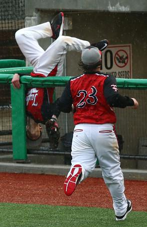 4-6-16<br /> Taylor vs Alexandria baseball<br /> <br /> Kelly Lafferty Gerber   Kokomo Tribune