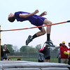 4-26-16<br /> Northwestern Relays<br /> Northwestern's Joe Mast in the high jump.<br /> Kelly Lafferty Gerber | Kokomo Tribune
